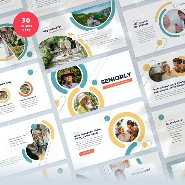 Senior Care Center PowerPoint Template