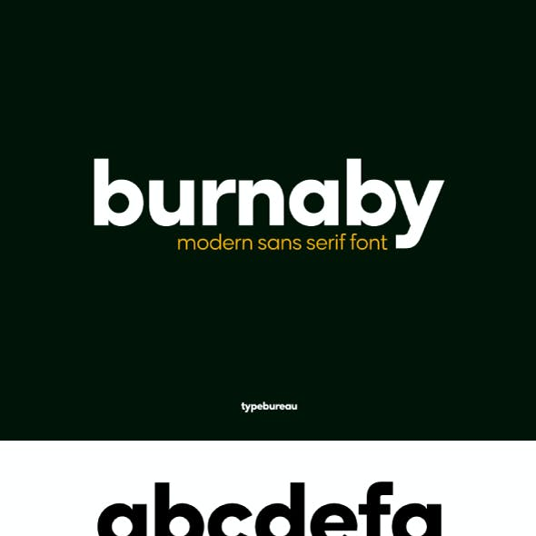 Burnaby Sans Font