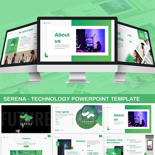 Serena - Technology Powerpoint Template