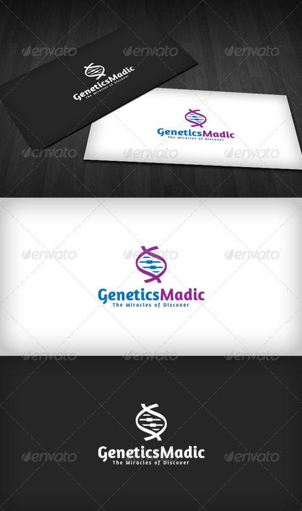 Genetics Madic Logo - Symbols Logo Templates