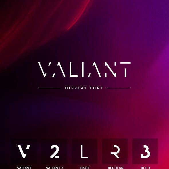 Valiant Font