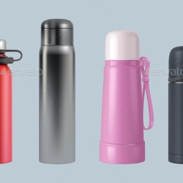 Thermos Realistic