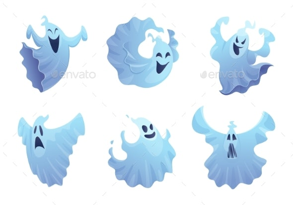 Cartoon Ghost - Miscellaneous Characters