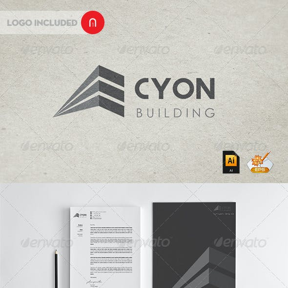 Cyon building professional Corporate Identity