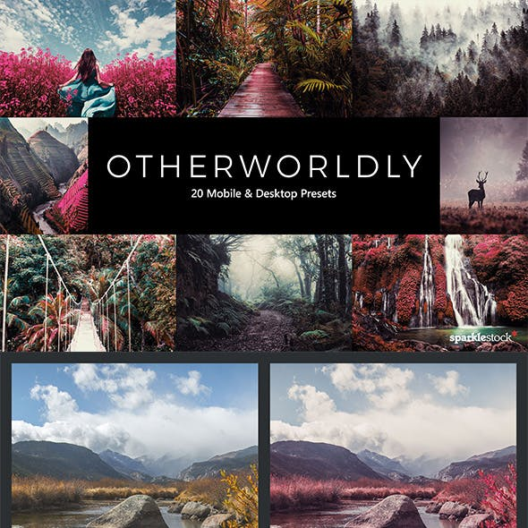 20 Otherworldly Lightroom Presets & LUTs
