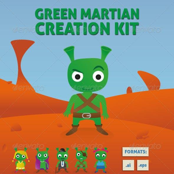 Green Martian Creation Kit