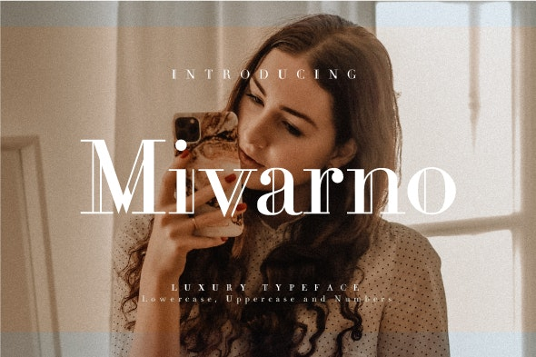 Mivarno - Serif Fonts