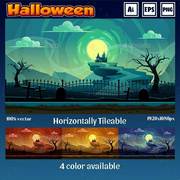 Game Background Halloween