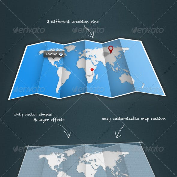 Fold-Up Map
