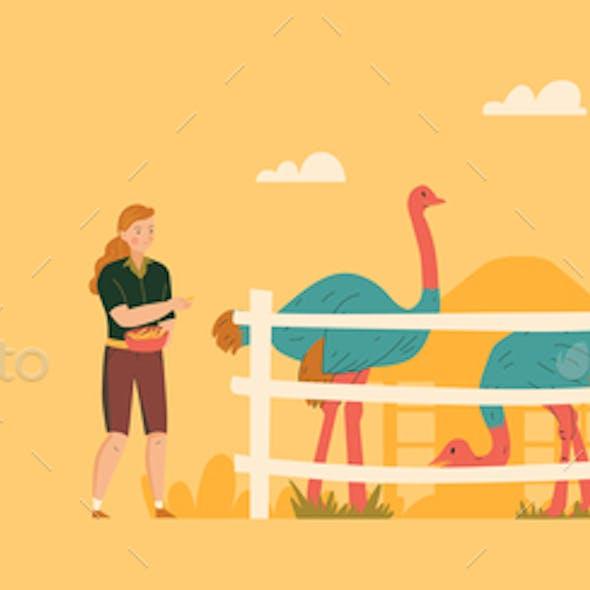 Zoo Horizontal Banner