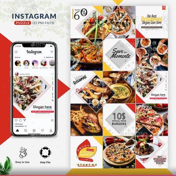 Restaurant Instagram Puzzle