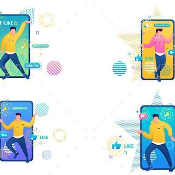 Web Design About Channels With Dance Training For People