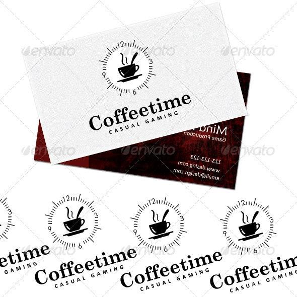 Coffee time Gaming - Logo Templates