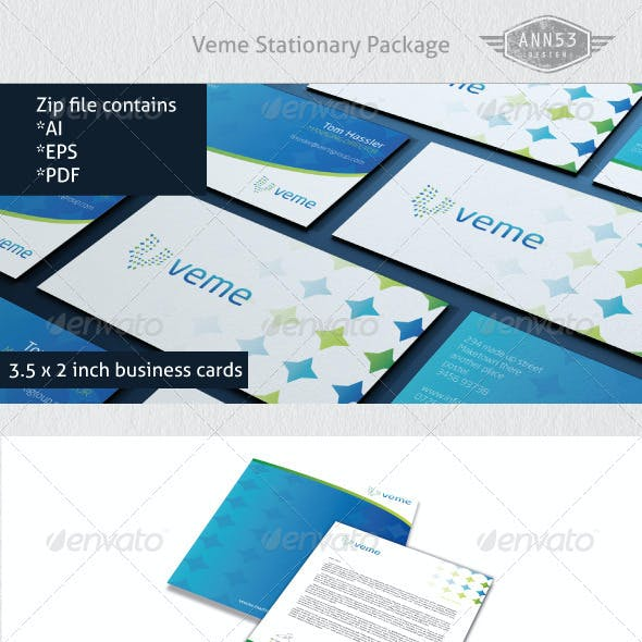 Veme Stationary Package