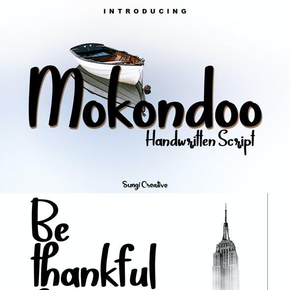 Mokondoo | Handwritten Script