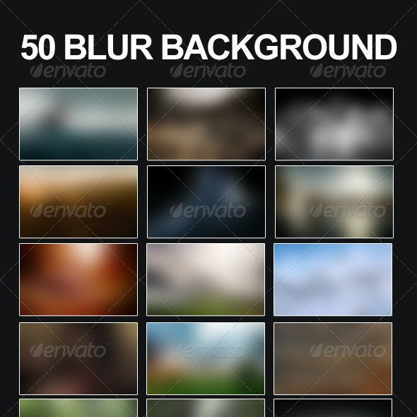 50 Blur Backgrounds Pack