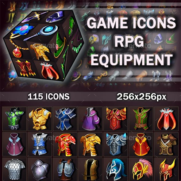 Game Icons RPG Equipment