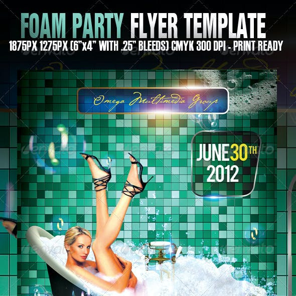 Foam Party Exclusive