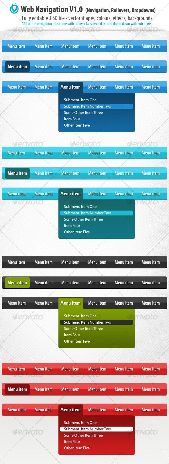 Web Navigation v1.0 by VO - Web Elements