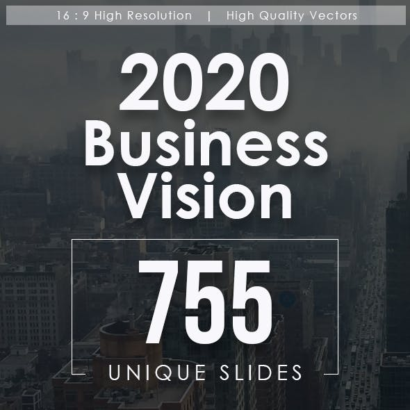 2020 Business Vision Keynote Templates Bundle
