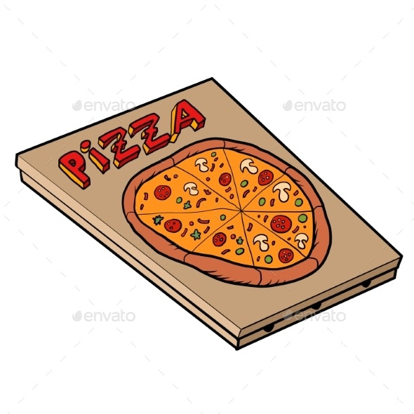 Classic Pizza - Food Objects
