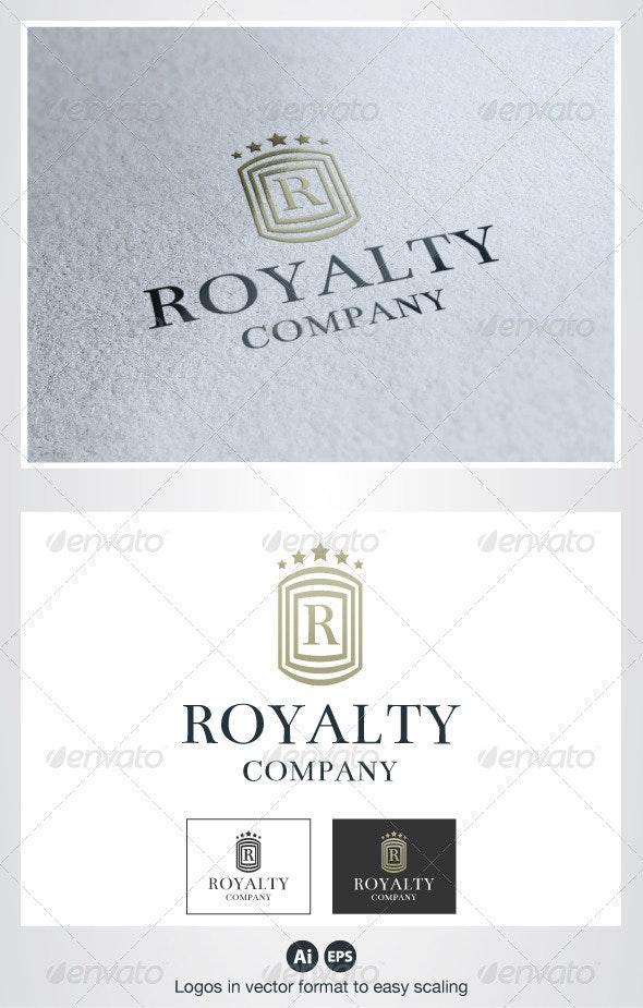 Royalty R Letter Logo - Crests Logo Templates