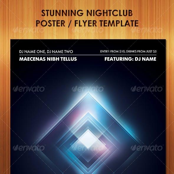 Stunning Nightclub Poster Flyer Template