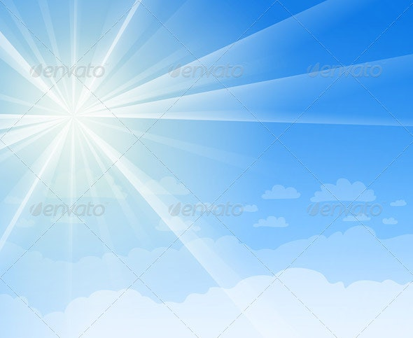 Blue Sky and Sunshine - Nature Conceptual