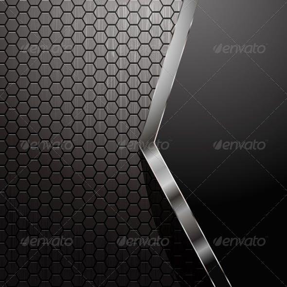 Metallic Abstract Background