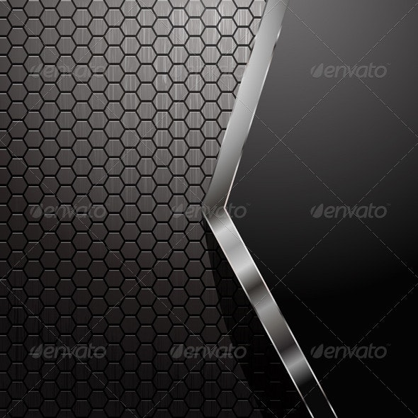 Metallic Abstract Background - Backgrounds Decorative
