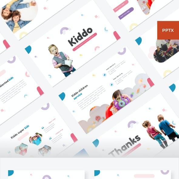 Kiddo - Kids PowerPoint Template