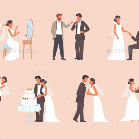 People Get Married Set