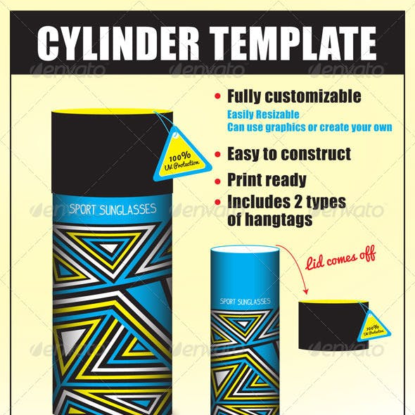 Cylinder Package Template
