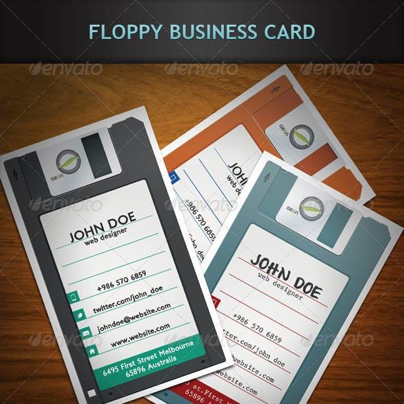 Floppy Business Card