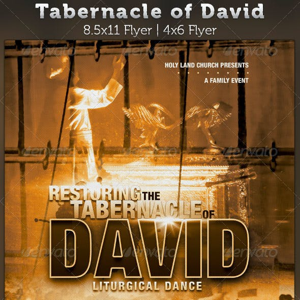 Tabernacle of David Church Flyer Template