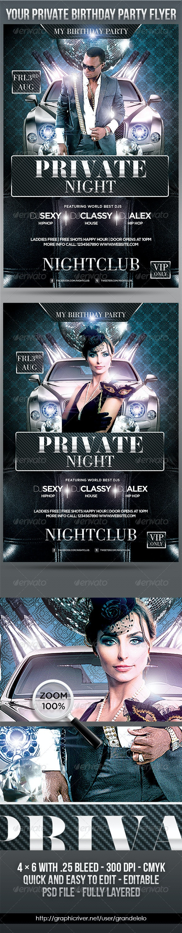 Bithday Private Night - Clubs & Parties Events