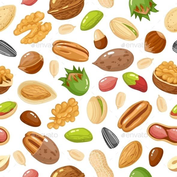 Seeds and Nuts Pattern