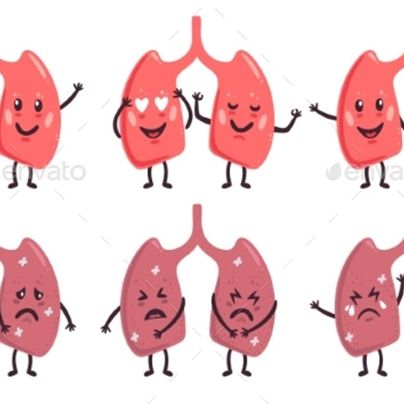 Lungs Characters