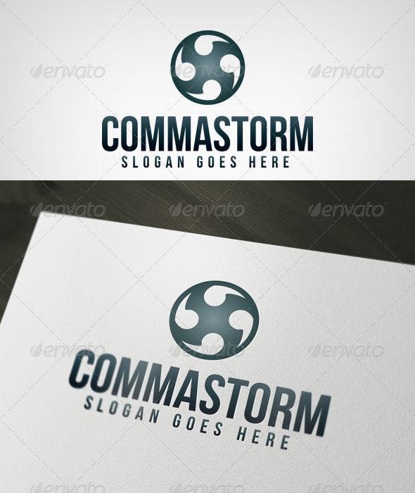 Commastorm Logo - Abstract Logo Templates