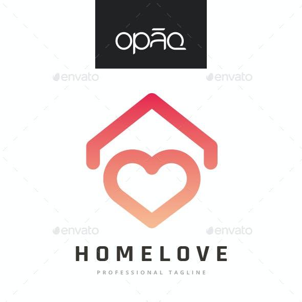 House Love Logo