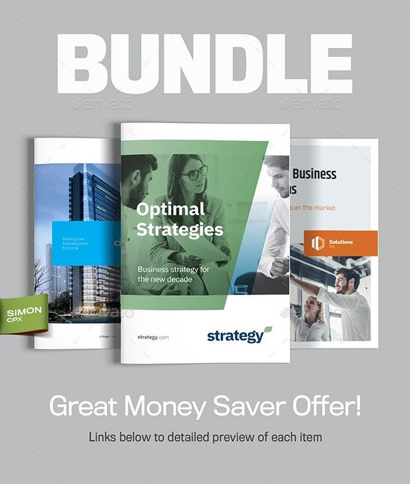 Brochure Bundle Vol. 4 - Corporate Brochures