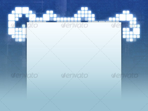 Cubey Background - Backgrounds Graphics