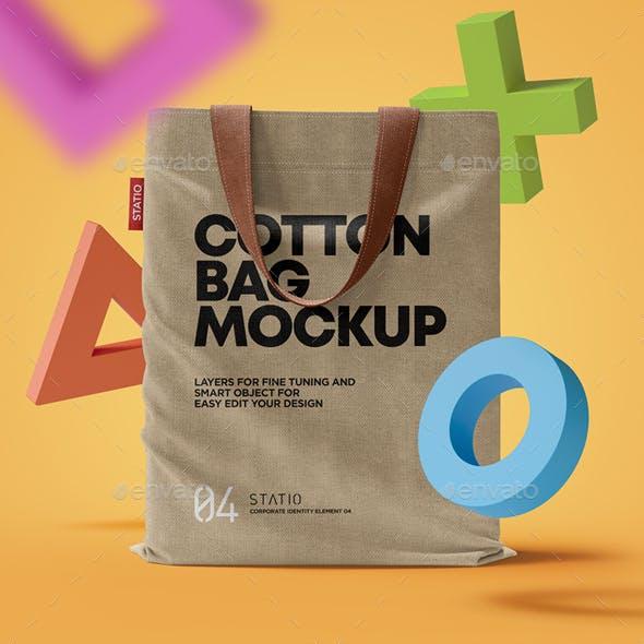 Cotton Bag Mockup: Statio pack