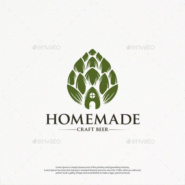 Homemade Beer Logo Template