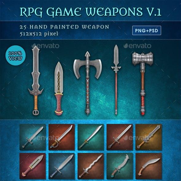 RPG Game Weapons V.1