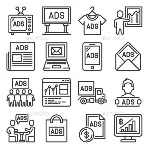 Advertisement Icons - Miscellaneous Vectors