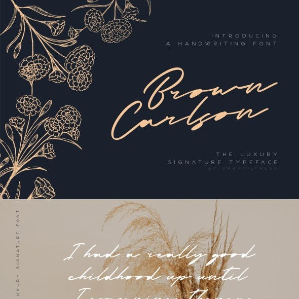 Brown Carlson – The Luxury Signature