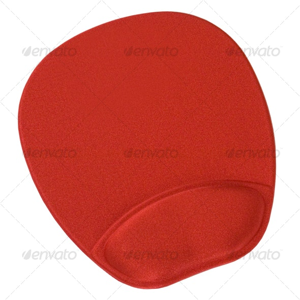 Gel Mouse Pad - Home & Office Isolated Objects