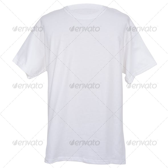 Mens White Tee Shirt
