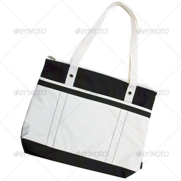 Tote Bag - Clothes & Accessories Isolated Objects